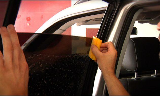cara pasang kaca mobil