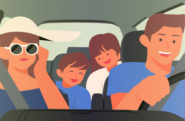 happy family car illustration 204997 2 1